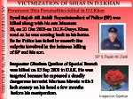 prominent shia personalities killed in d i khan
