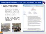 desarrollo y actualizaci n de otros productos virtuales71