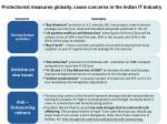 protectionist measures globally cause concerns in the indian it industry