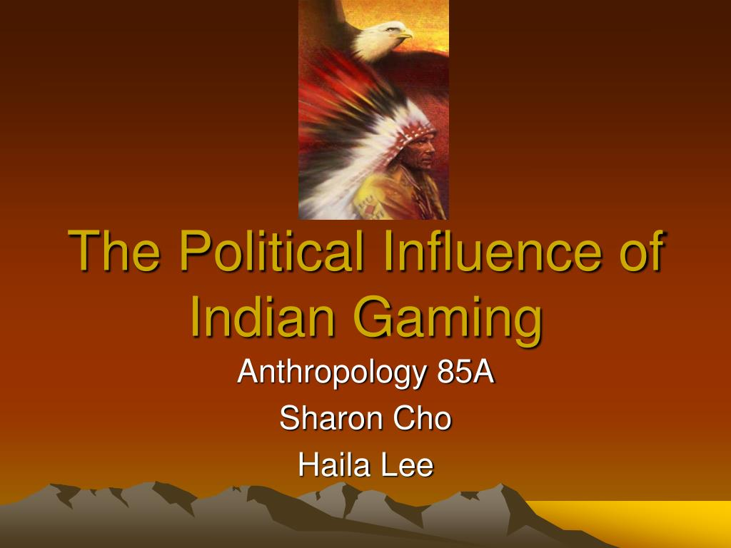 the political influence of indian gaming l.