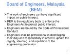 board of engineers malaysia bem