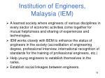 institution of engineers malaysia iem
