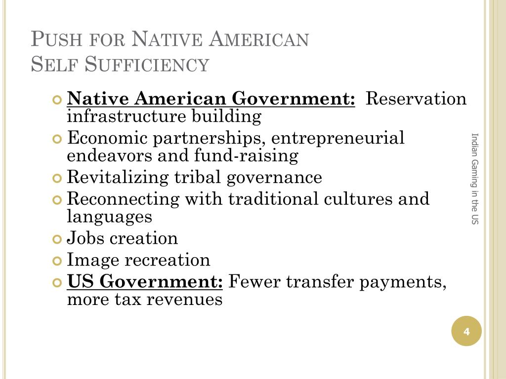 Push for Native American