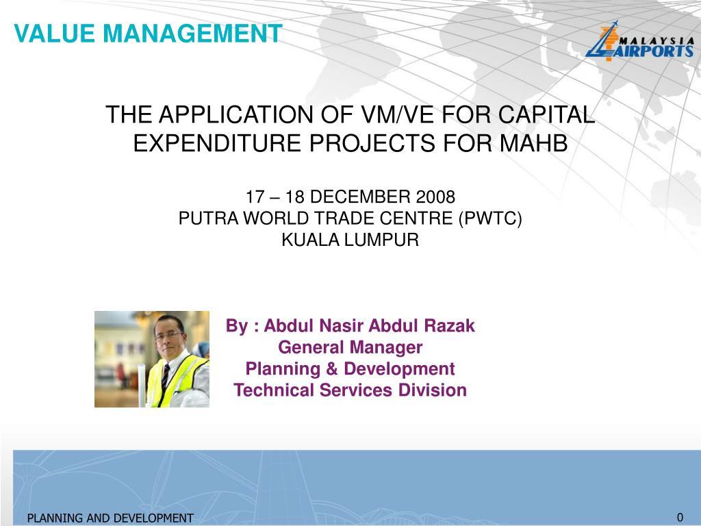 value management l.
