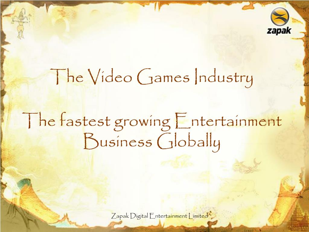 the fastest growing entertainment business globally l.