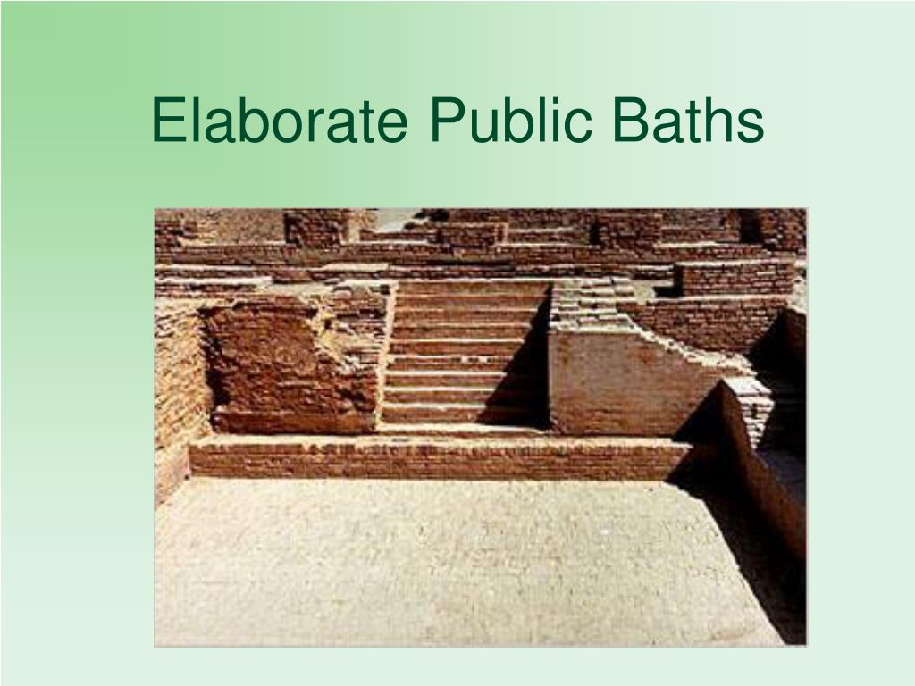 Elaborate Public Baths