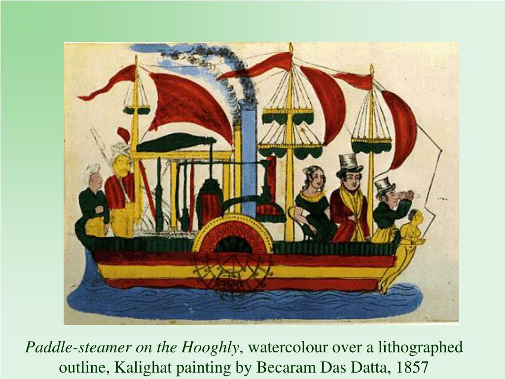 Paddle-steamer on the Hooghly
