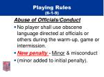 playing rules 6 1 9