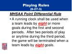 playing rules 6 27 3