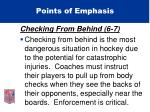 points of emphasis24