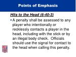 points of emphasis25