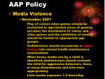 aap policy