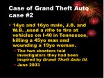 case of grand theft auto case 2