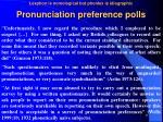 pronunciation preference polls