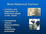 brief historical context1