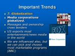 important trends6