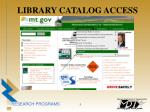 library catalog access5