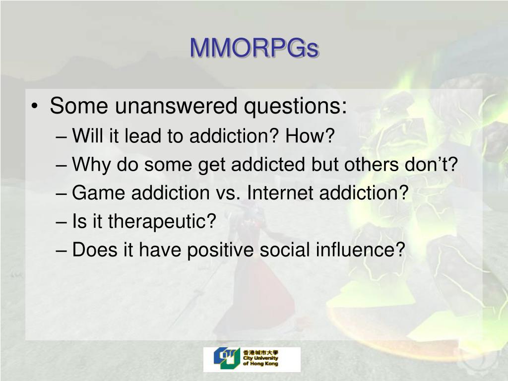 MMORPGs
