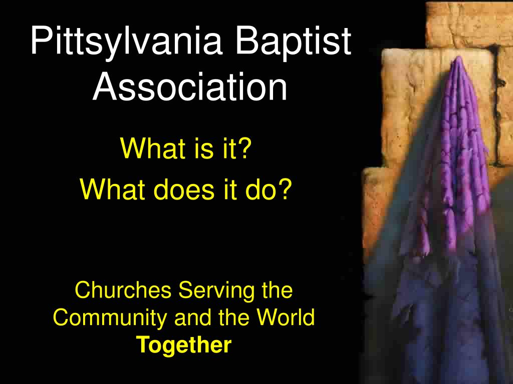 pittsylvania baptist association l.