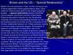 britain and the us special relationship