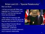 britain and us special relationship