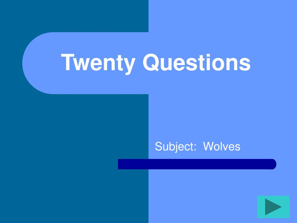 twenty questions l.