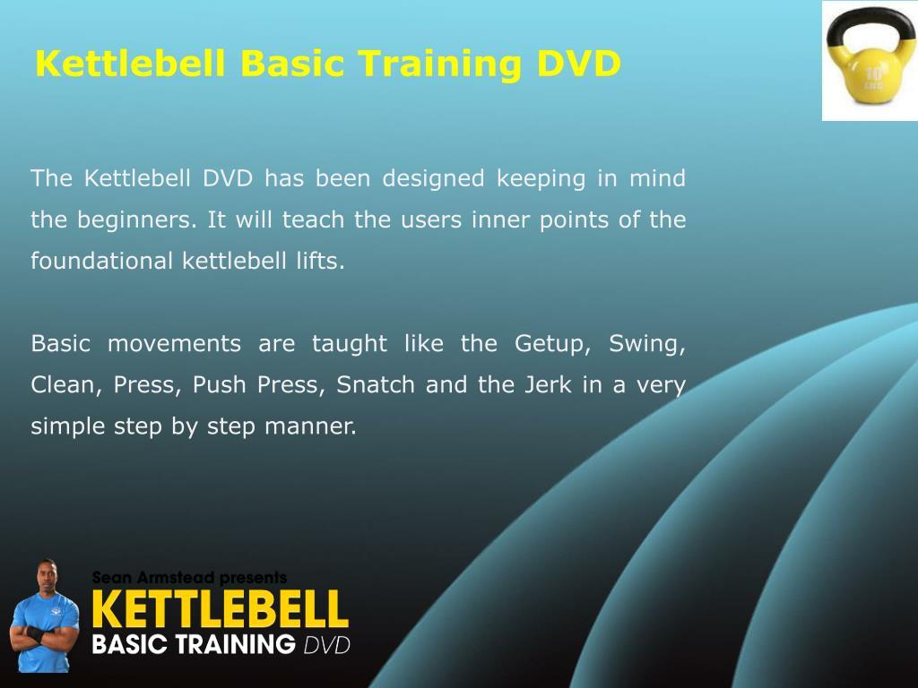 Kettlebell Basic Training DVD