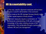 hr accountability cont