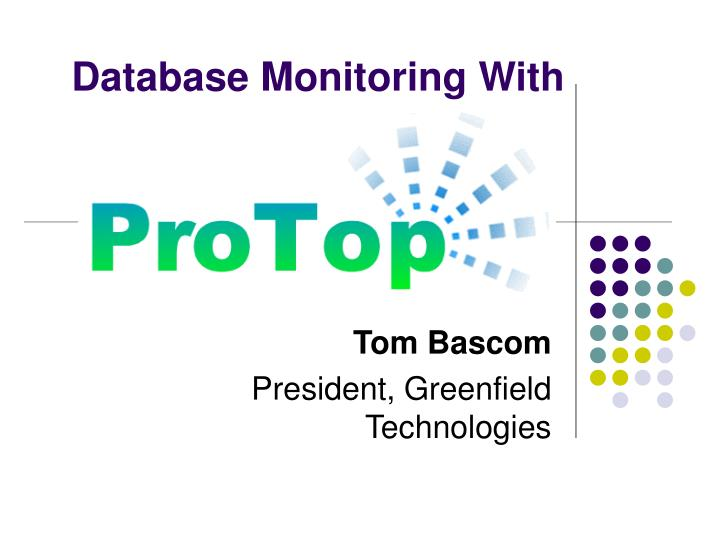 database monitoring with n.