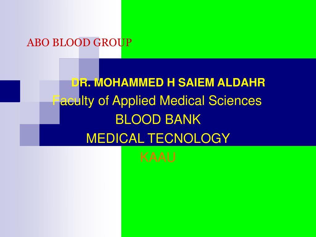 abo blood group l.