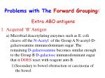 problems with the forward grouping2
