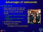 advantages of taekwondo7