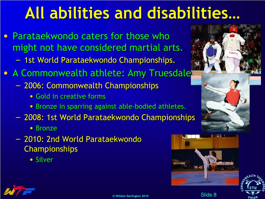 All abilities and disabilities…