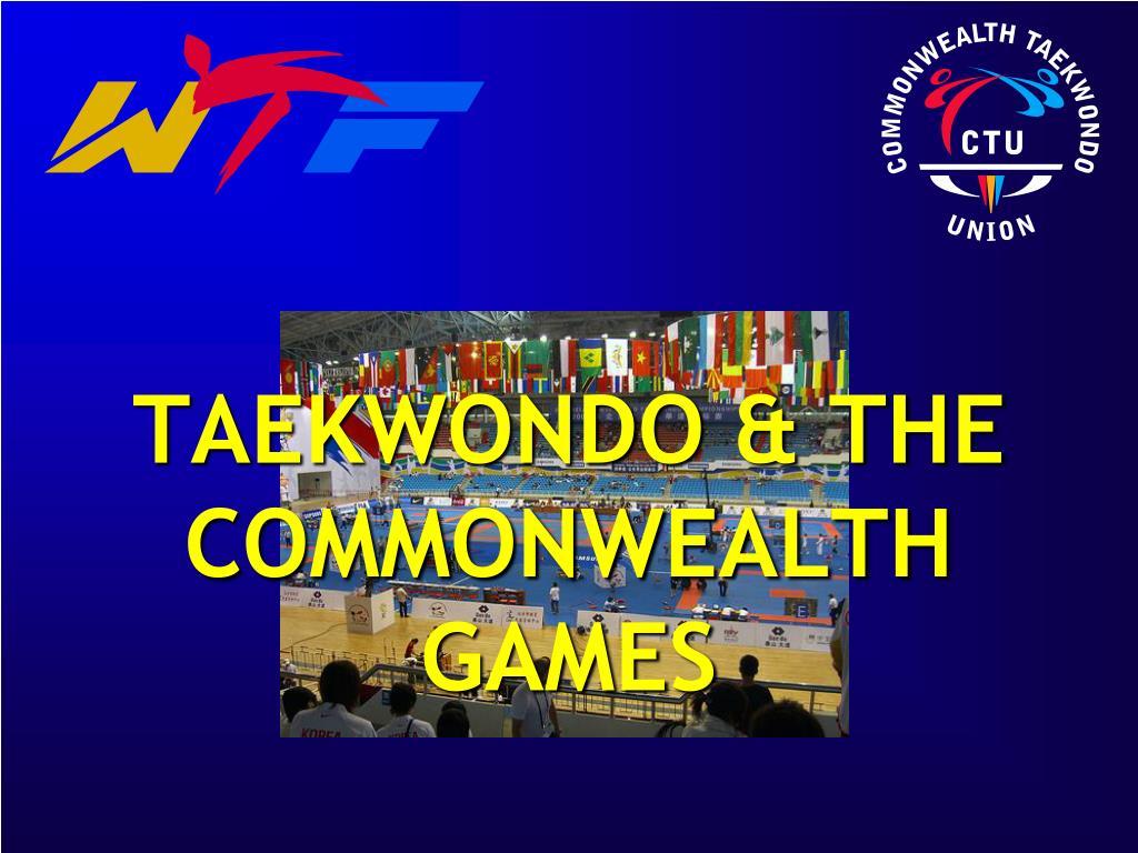 taekwondo the commonwealth games l.