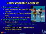 understandable contests