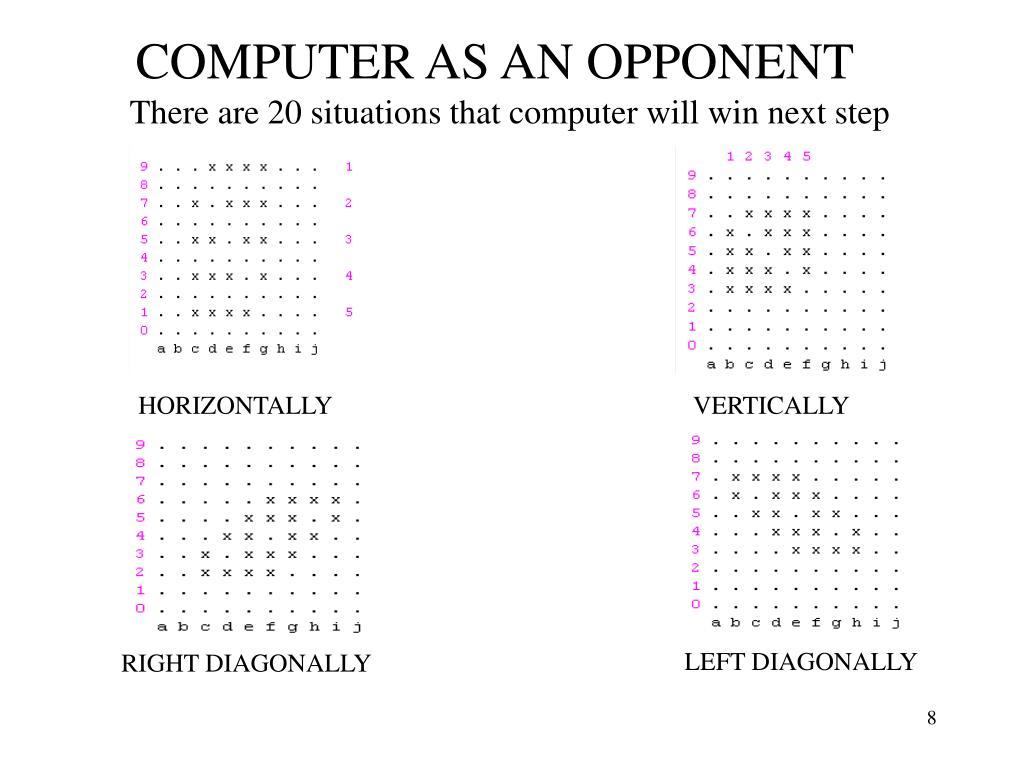 COMPUTER AS AN OPPONENT