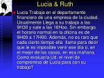 lucia ruth