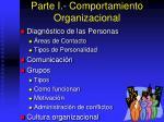 parte i comportamiento organizacional8