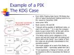 example of a pik the kdg case