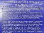 the athletic games and contests of the greeks19