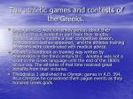 the athletic games and contests of the greeks21