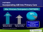partners incorporating abi into primary care