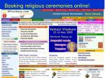 booking religious ceremonies online
