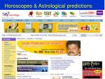 horoscopes astrological predictions