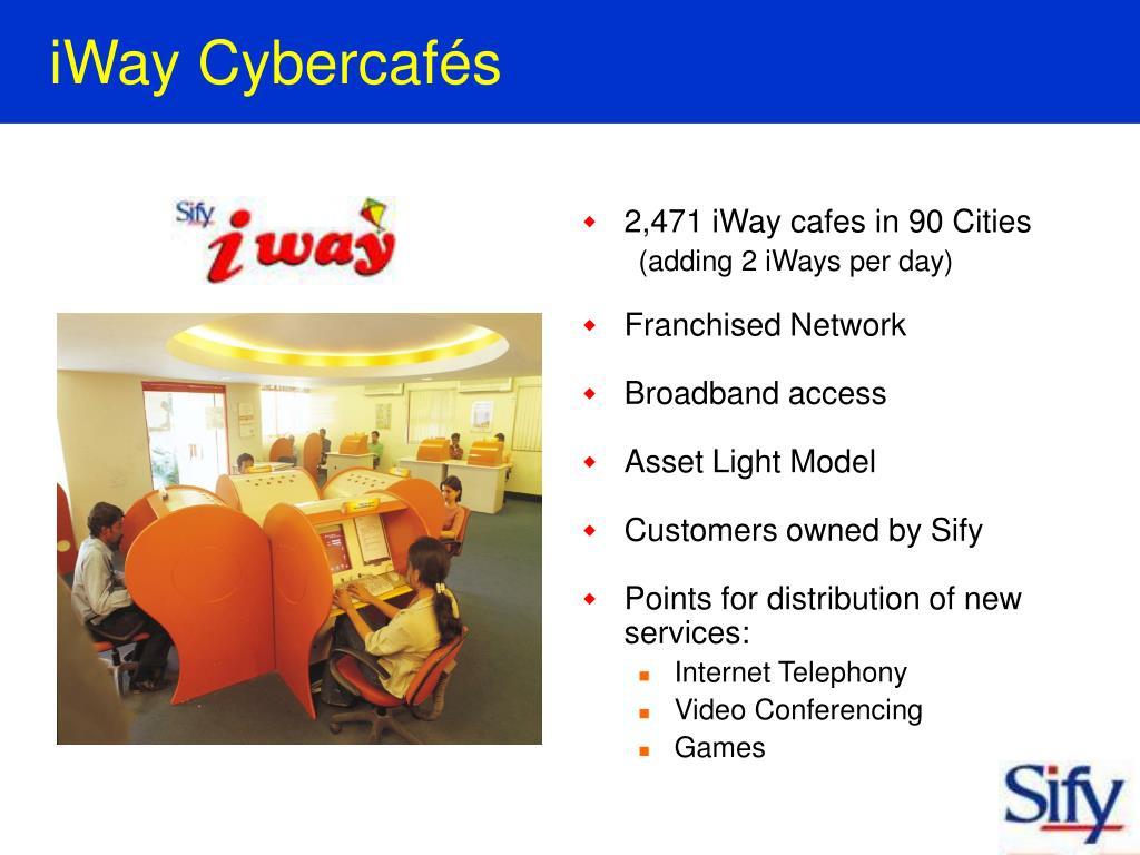 iWay Cybercafés