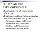 rt 1997 side 1965 eidesunddommen iii