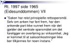rt 1997 side 1965 eidesunddommen vii