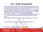 10 7 euler equations