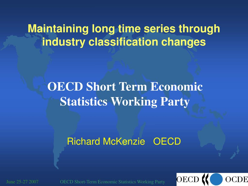 maintaining long time series through industry classification changes l.
