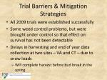 trial barriers mitigation strategies